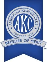 We are Breedfers Of Merit with the AKC!!